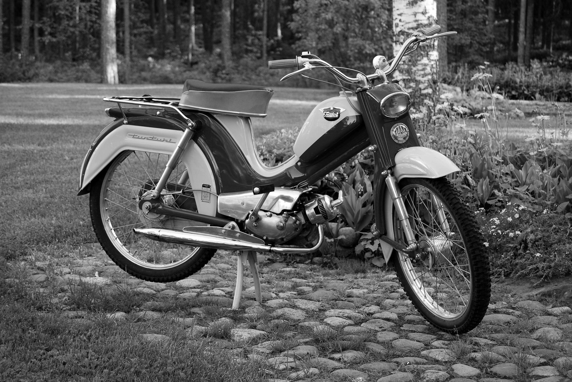 Tunturi Brommer Moped