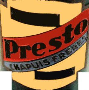 Logo PRESTO