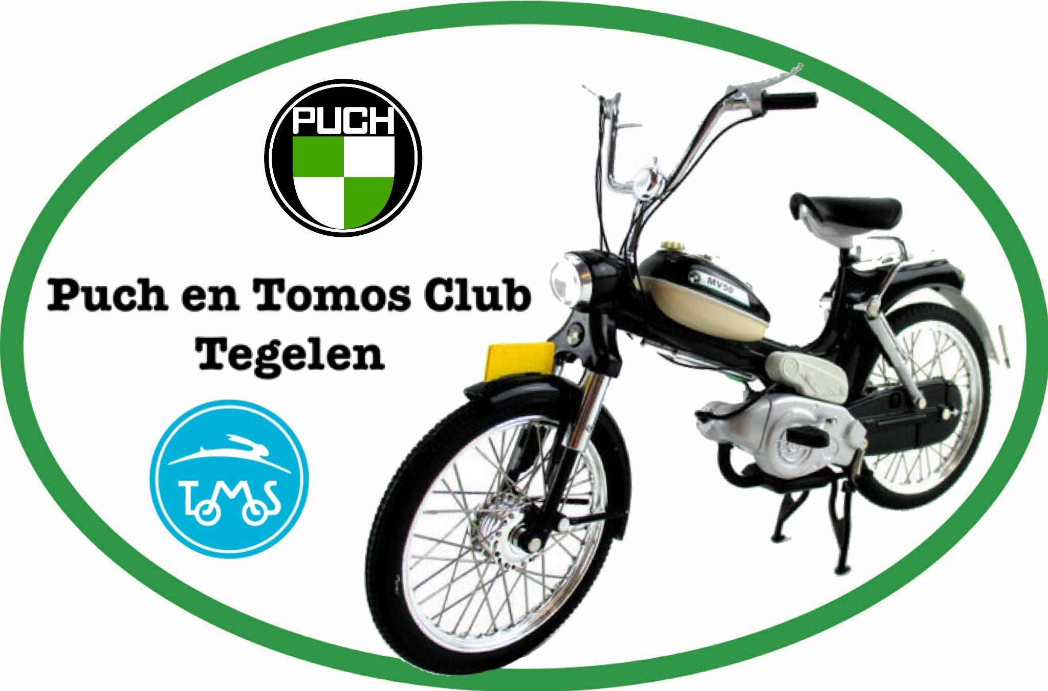 Toertocht Puch en Tomos Club Tegelen