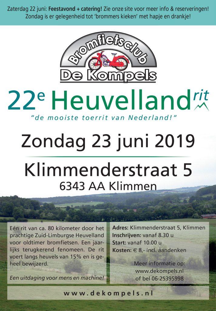 Heuvellandrit door Zuid Limburg