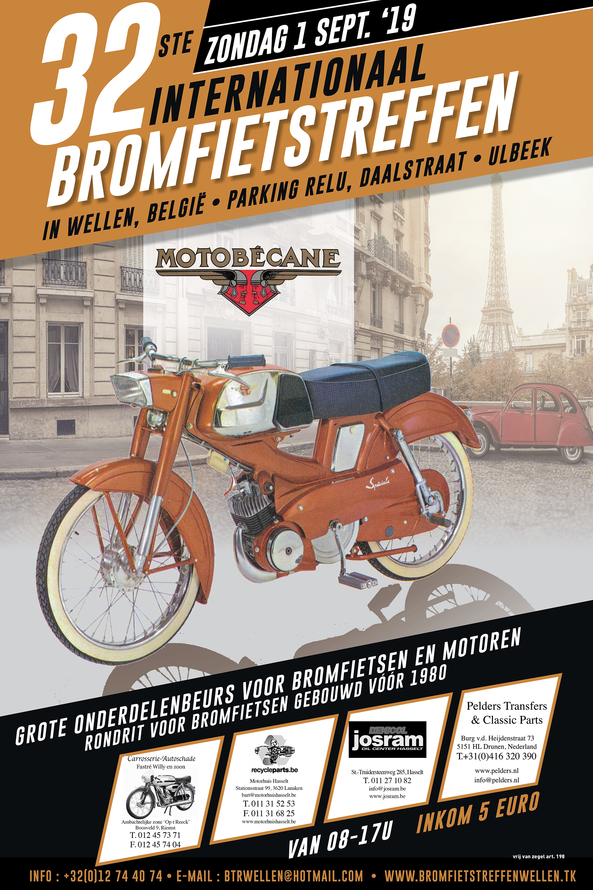 Internationaal Bromfietstreffen - België