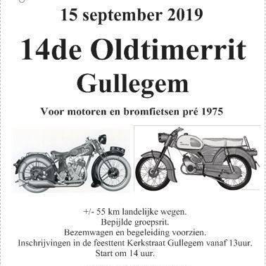 Oldtimerrit - Gullegem België